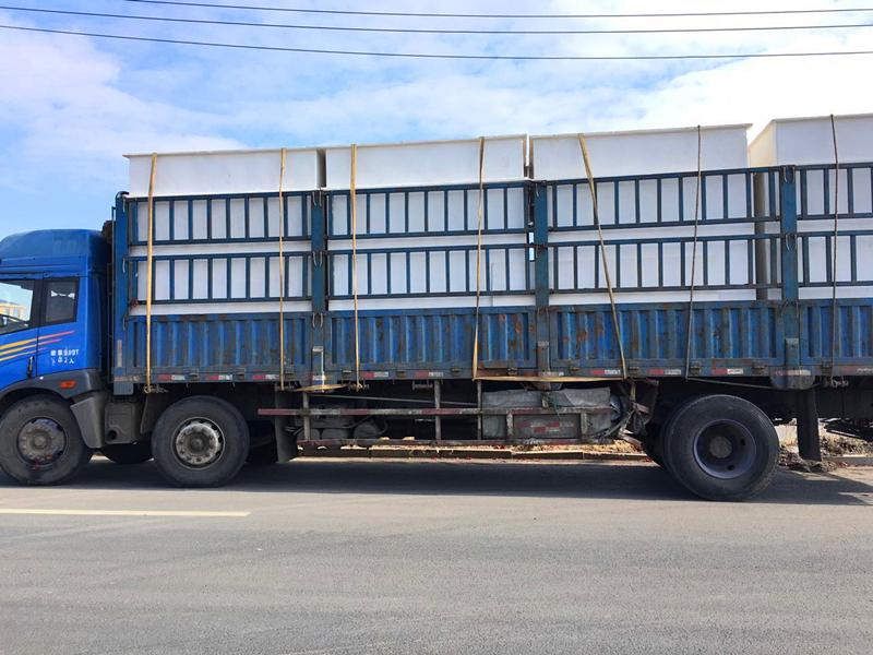 内蒙古赤峰电厂项目产品生产完工 装车发货中
