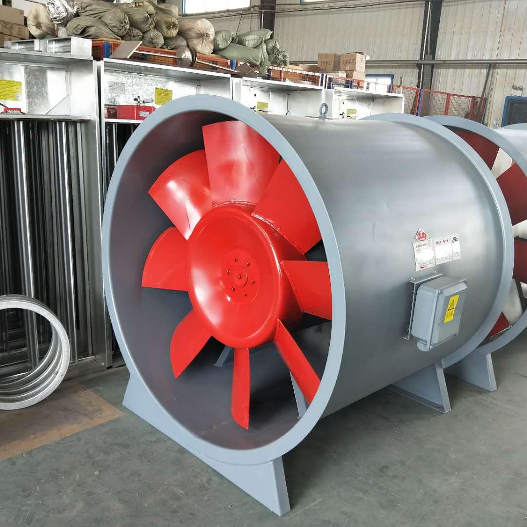 消防排烟风机HTF-4 风量3900-6100m3/h 功率1.1Kw